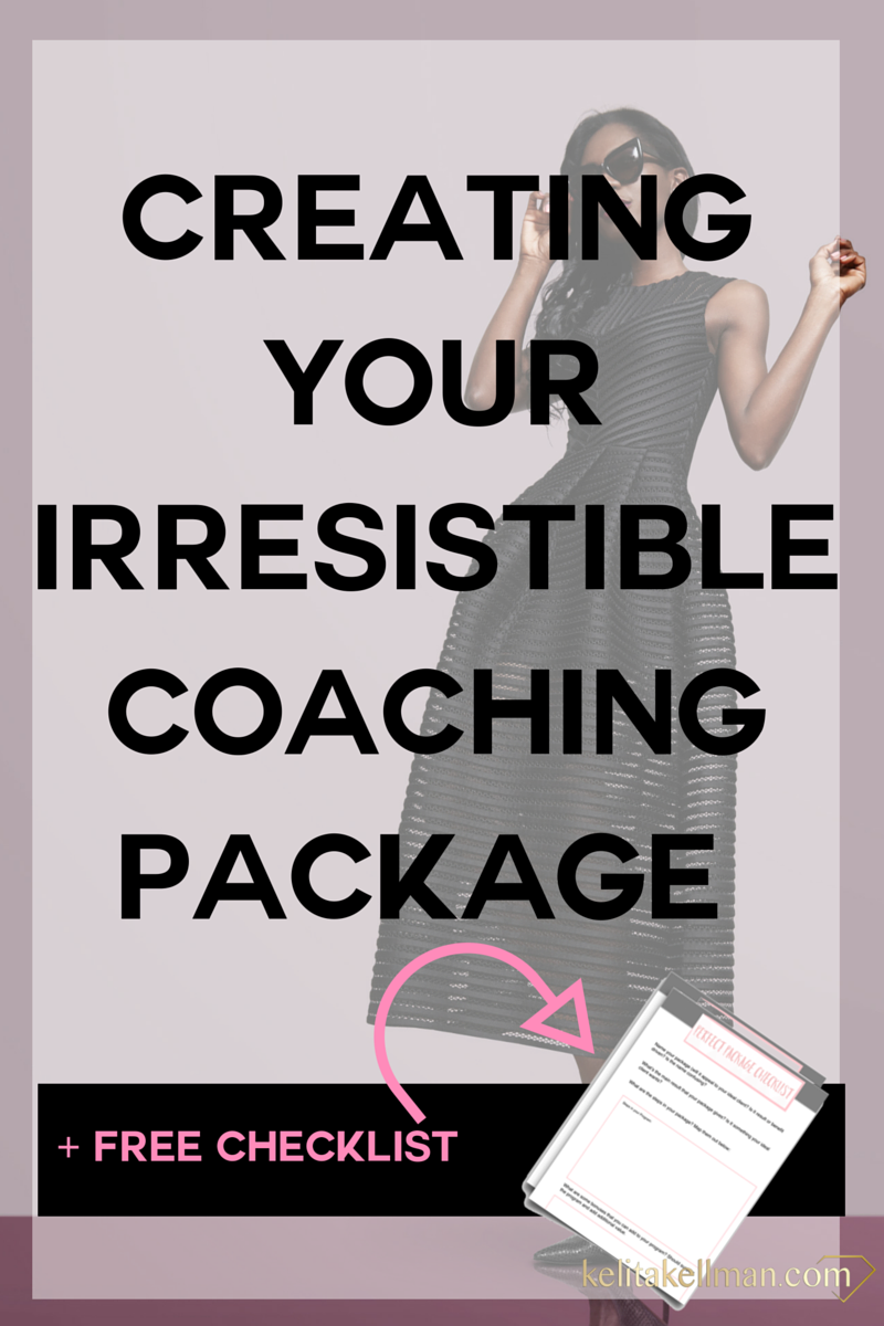 how to create a coaching package