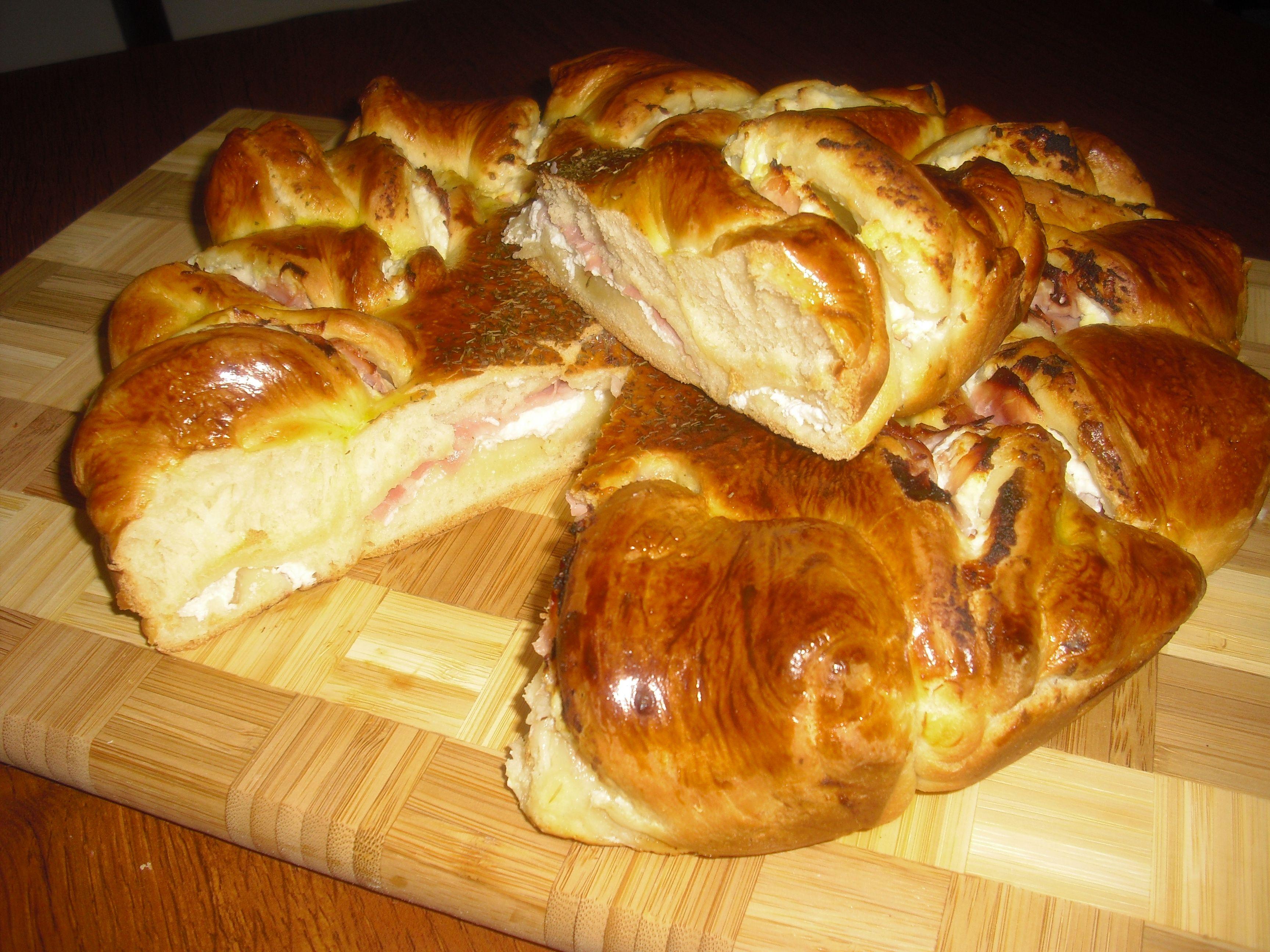 Torta girasole -torta salata-