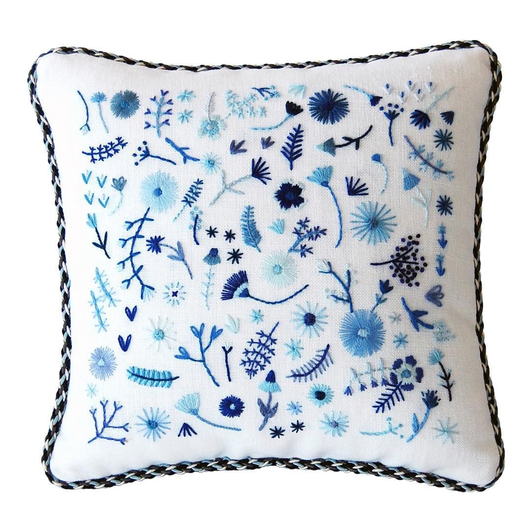Selftaught artist hand embroidery and handillustrated paper goods