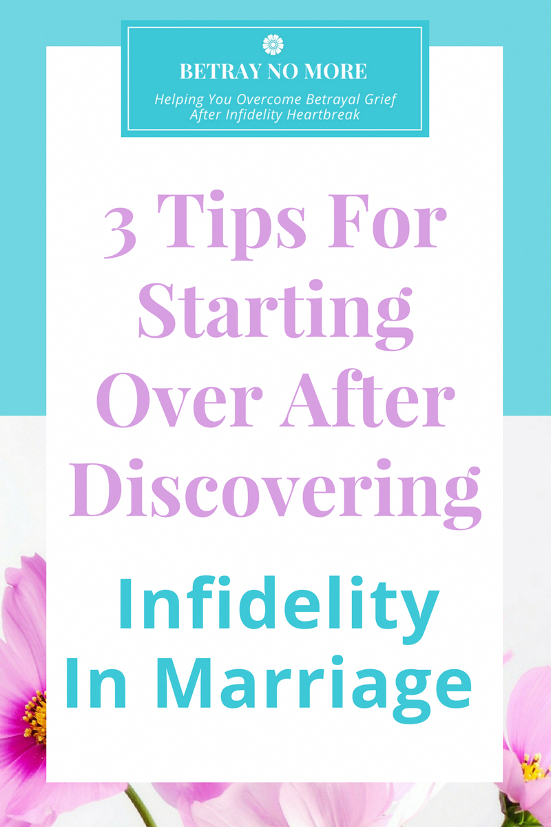 how to be happy after infidelity