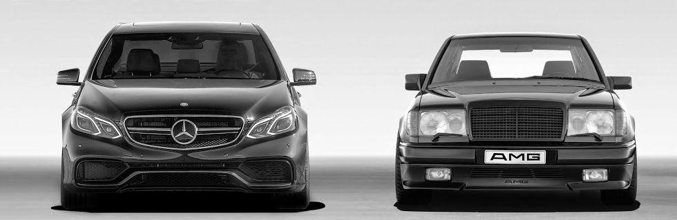 Mercedes Benz E63 AMG S 4MATIC & Hammer W 124