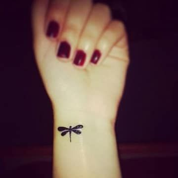La Supervivencia Y Los Tatuajes De Libelulas Para Mujeres Tatuajes