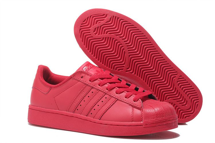 Buy 2016 Adidas Superstar Supercolor Femme Casual Sneakers Tout Rouge  (Basket Originals Superstar Clean) from Reliable 2016 Adidas Superstar  Supercolor ...