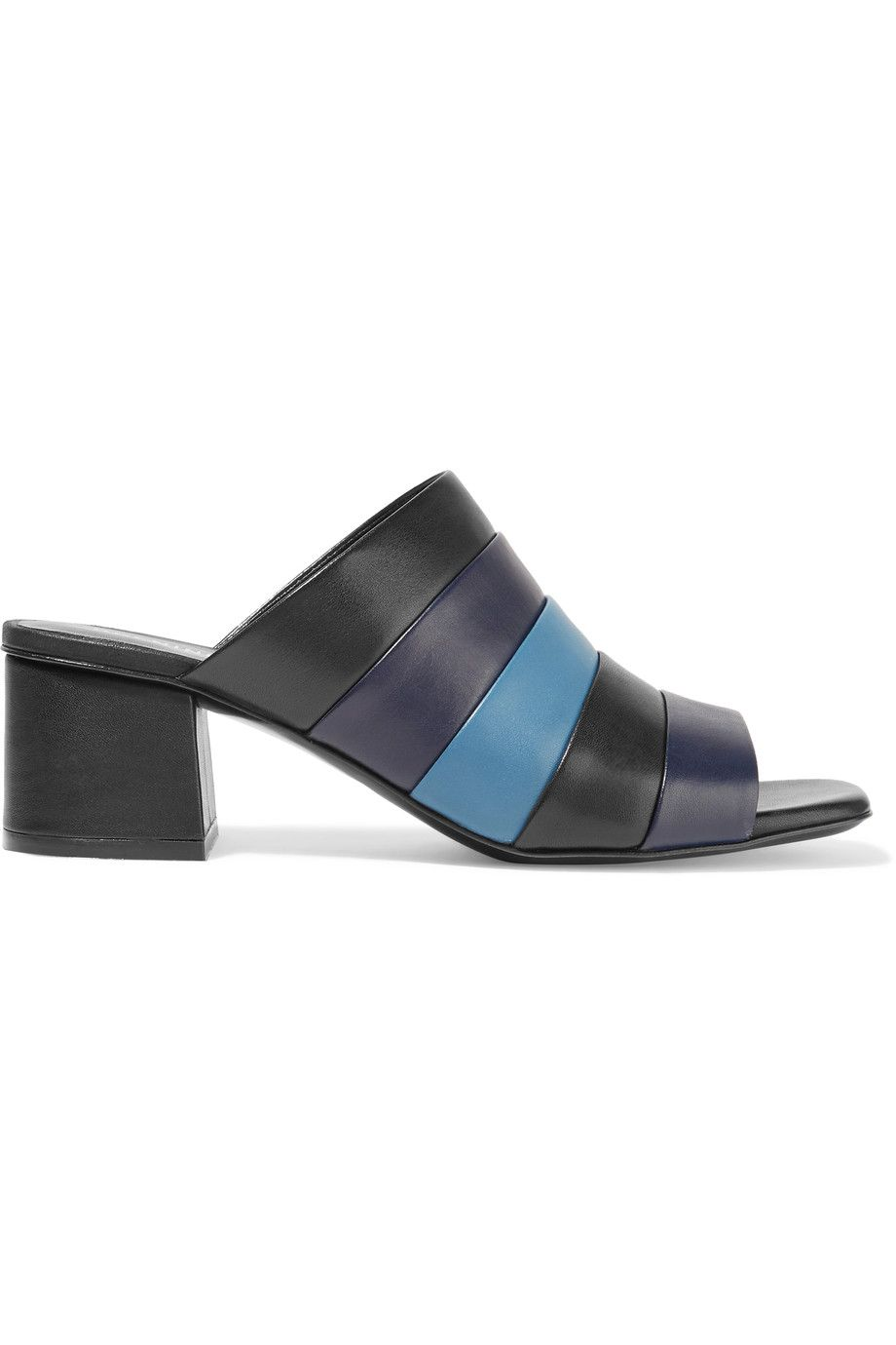 Opening Ceremony Ellenha striped leather sandals Cheap Price In China XhIK8z