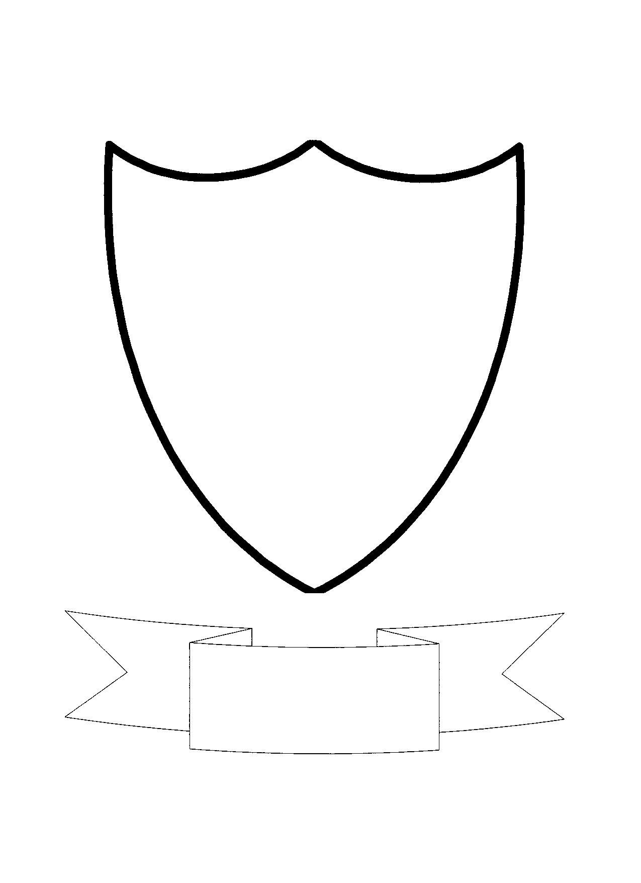 Coat Of Arms Templates Clipart Best Family Crest Template Shield Template Free Clip Art