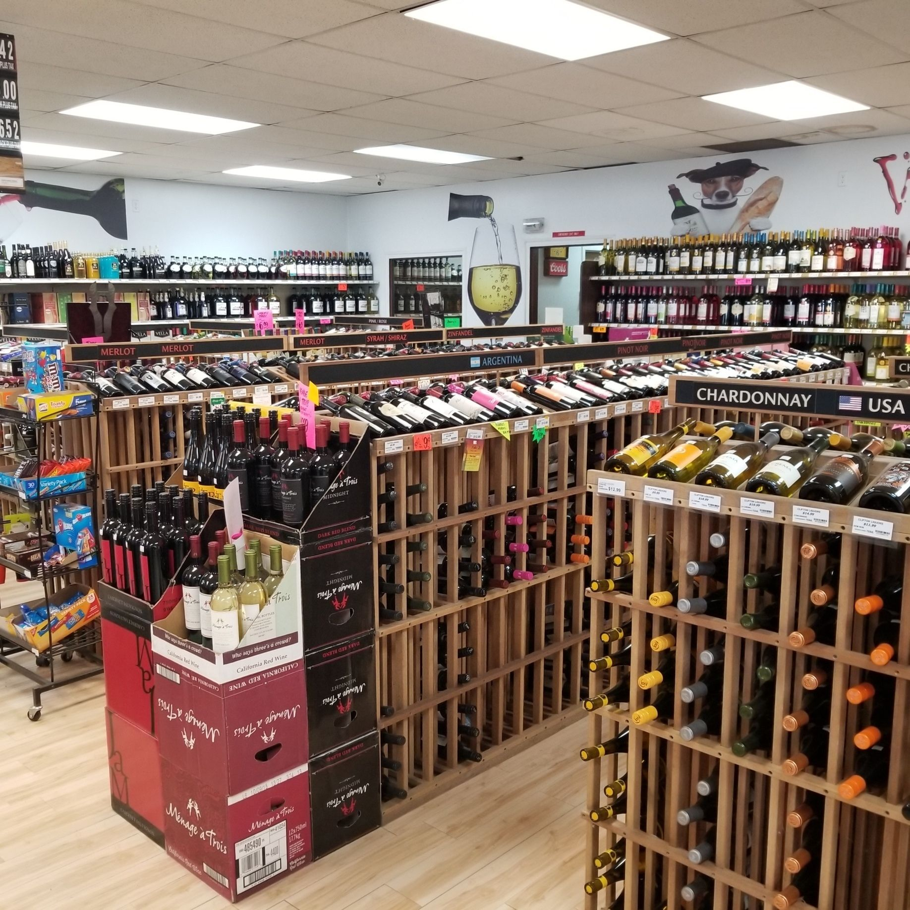 Check Out Our Selection Of Local & Imported Wines At Clifton Liquors ...