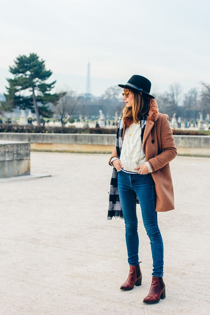 Neutral Winter Outfit in Paris
