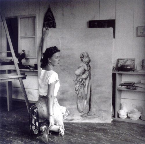 Dorothea Tanning Sedona Arizona 1946 By Lee Miller From