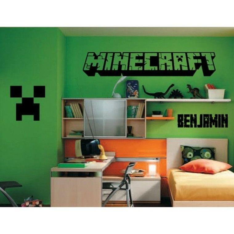 Dekoration deen deko zimmer minecraft f r liebhaber dieses videospiels deko zimmer - Gaming zimmer deko ...