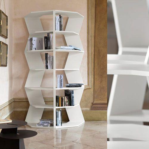 Libreria ZigZag Bline designer Aziz Sariyer | Librerie di design ...