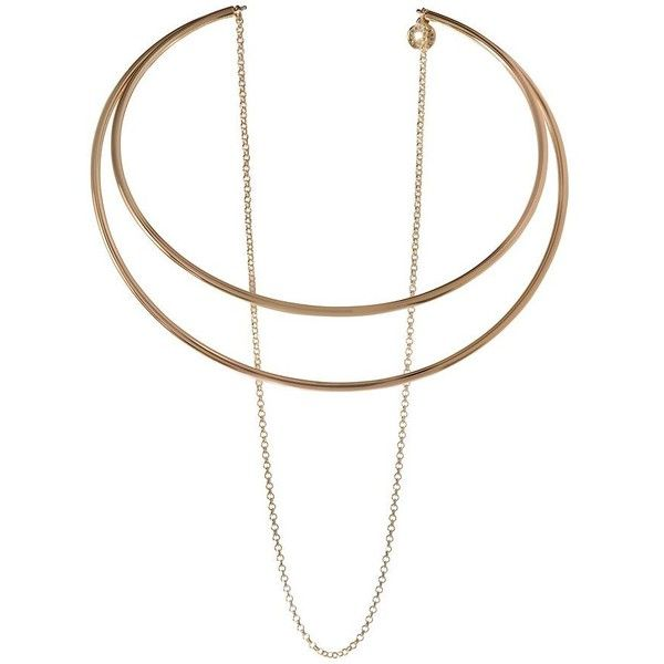BCBGeneration Choker with Double Chain Necklace lvynnPRo
