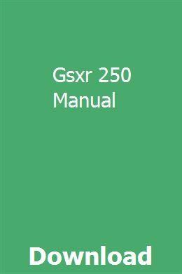 Gsxr 250 Manual pdf download online full   Unity. Unity 3d