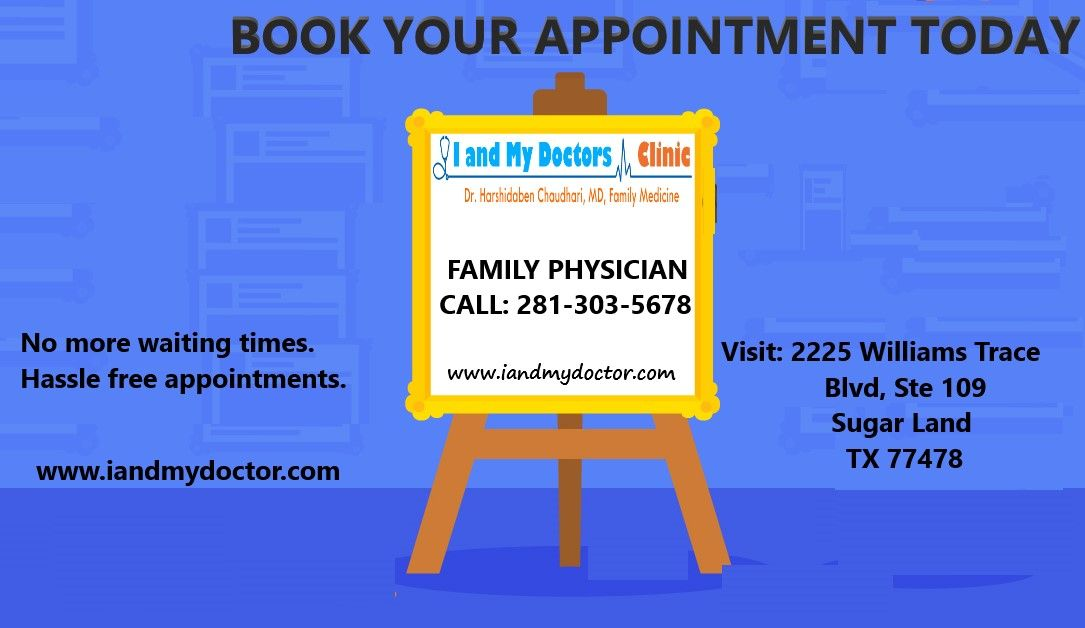 Book Your Appointment Today! Call 2813035678 Visit