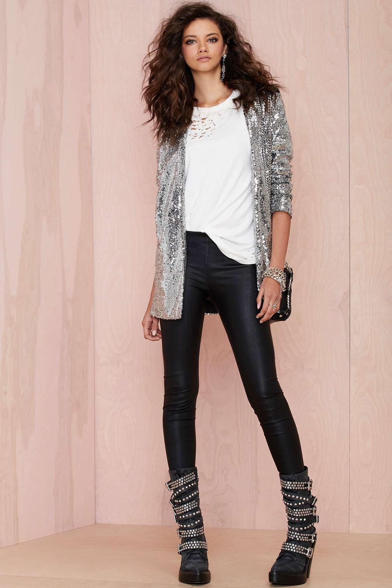 Nasty Gal Hustle Sequin Blazer   Shop Jackets + Coats at Nasty Gal ...
