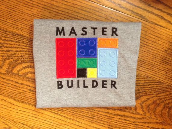 Perfect shirt for the Lego lover in your life! Message us about custom brick colors! Adorable for girls and boys alike! Also available in adult sizes!  *This listing is for one custom shirt  Shirts are typically 90%-100%cotton