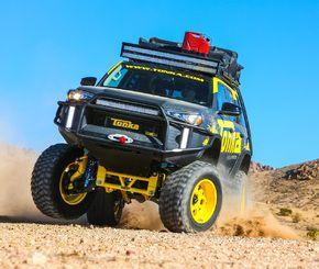 بطولات السيارات راليات و سباق سيارات Tonka Truck Toyota 4runner