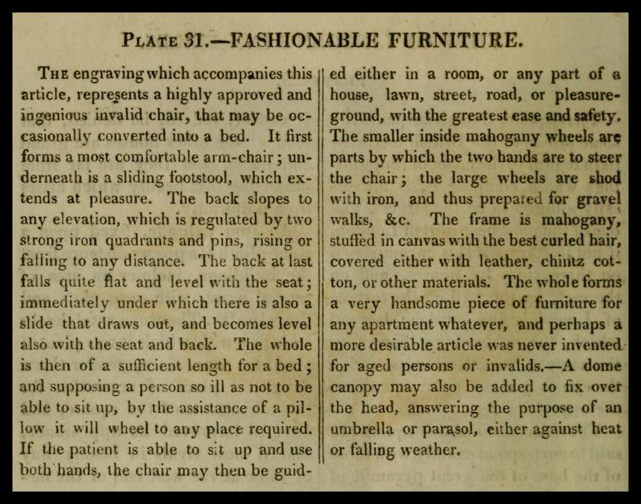 I thought I'd get the New Year of 2012 off to an Ackermann's start and post the wonderful Furniture plates they published for the years 1809...