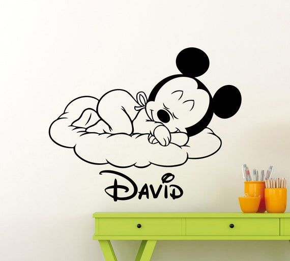 Suave Mickey Decal