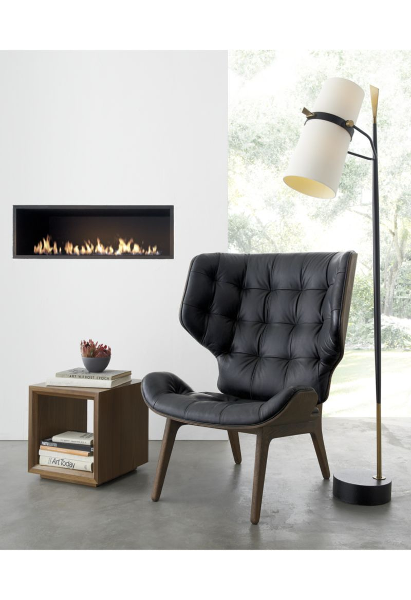 Mammoth Leather Chair - Crate and Barrel