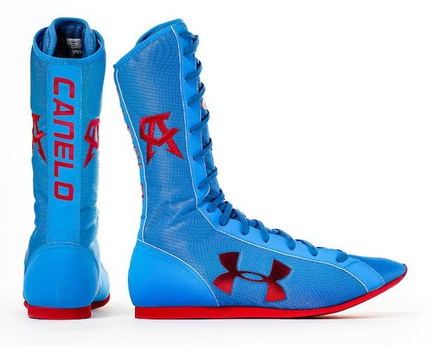 Dando golondrina Dólar  Under Armour Boxing Boots for Canelo Alvarez | Boxing boots ...