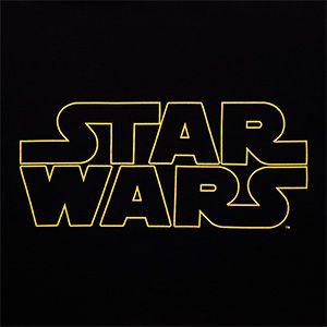 Star Wars Gold Logo Tee Star Wars Geek Clothes Big Star