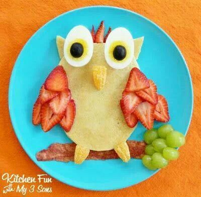 Fun breakfast idea!