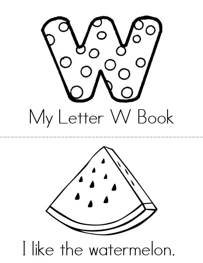 I like W Book - Twisty Noodle | Personalized books, Mini books