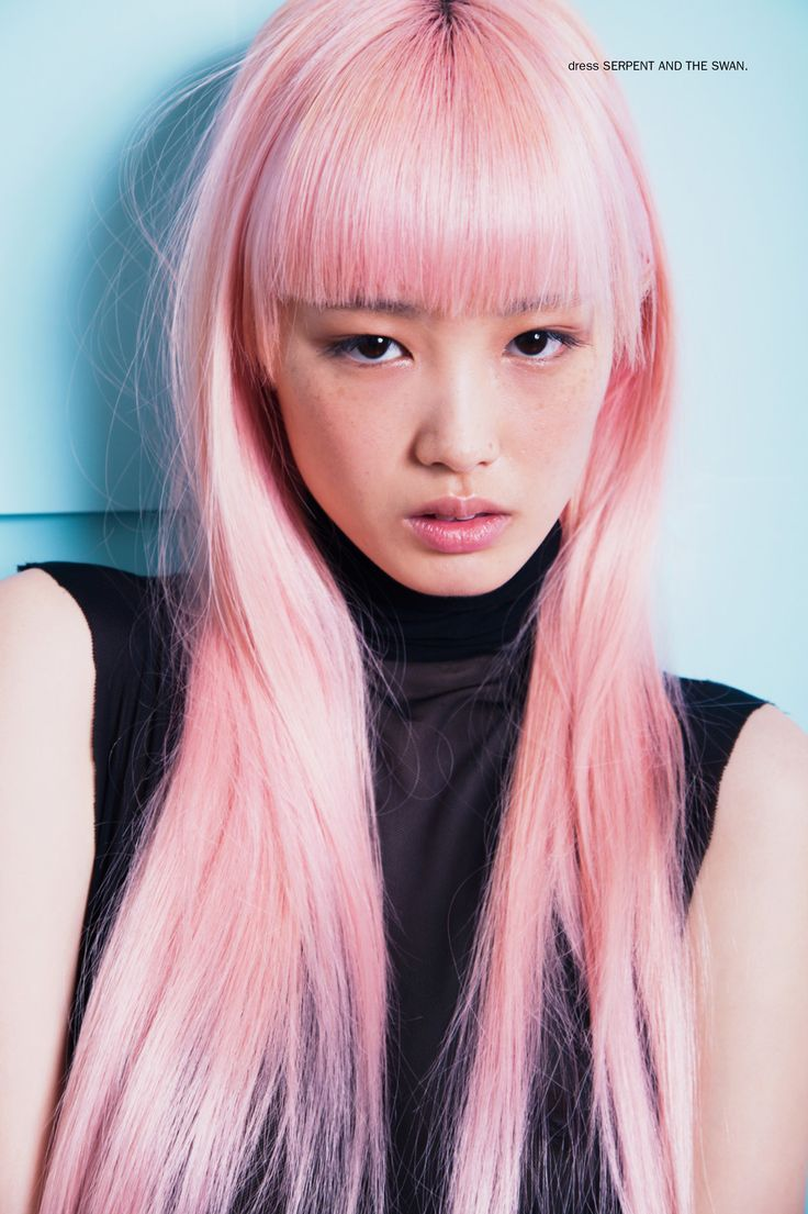 Fernanda Ly Pink Hair Dye Pink Hair Dyed Hair