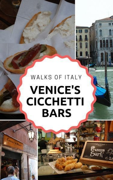 Photo of The Best Restaurants in Venice are the Cicchetti Bars