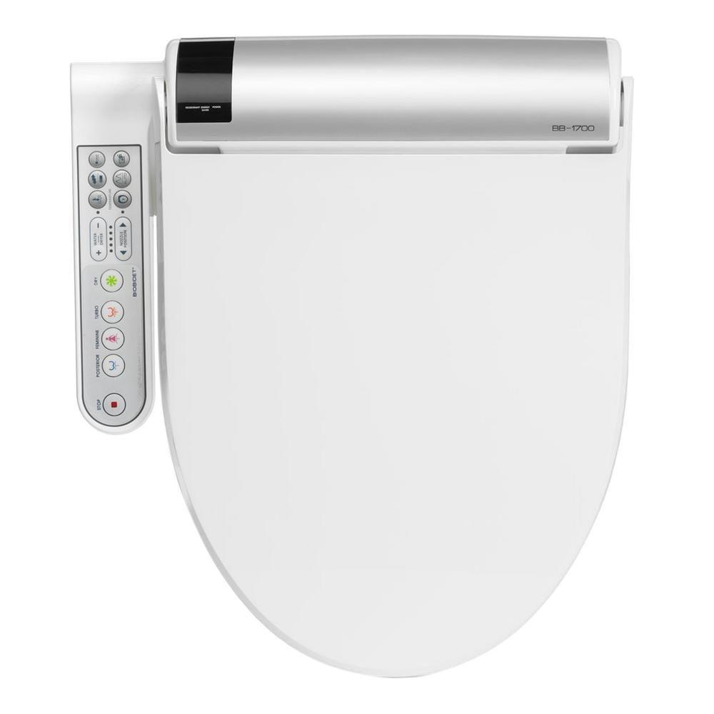 Biobidet Advanced Bliss Electric Bidet Seat For Elongated Toilets In White In 2020 Bidet Toilet Seat Bidet Bidet Seat