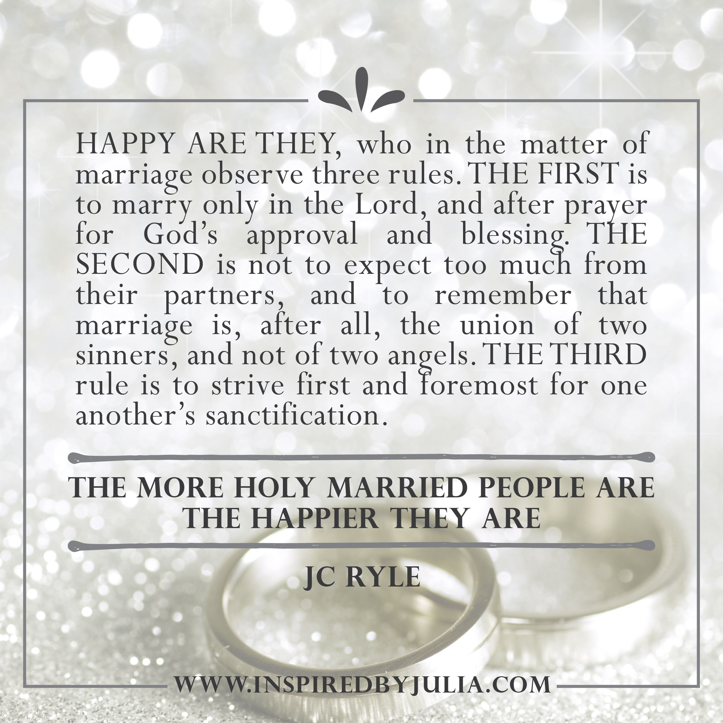Jc Ryle Quote On Marriage