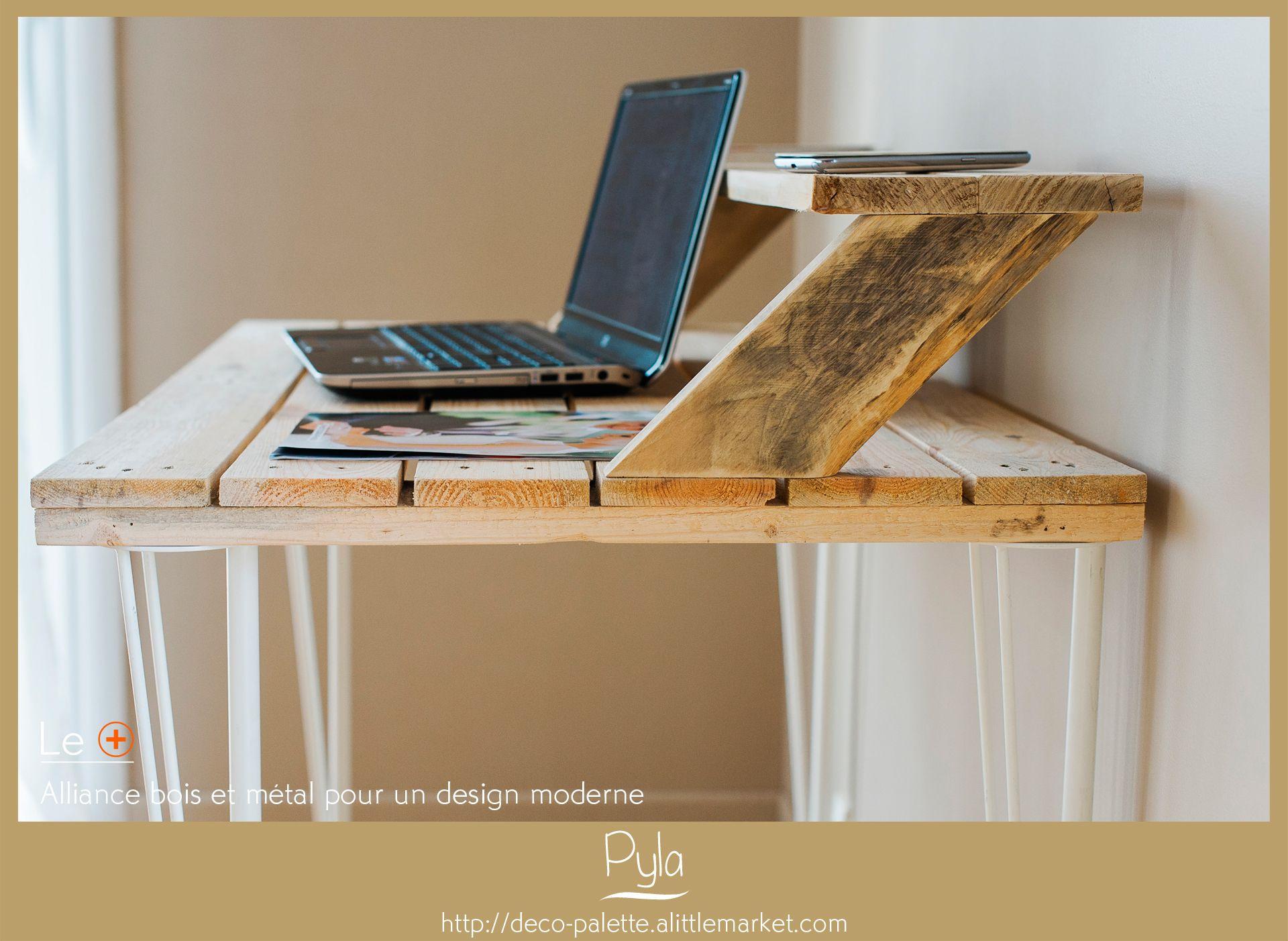 Bureau Bois Rustique : Bureau bois massif rustique table chene massif rustique best of