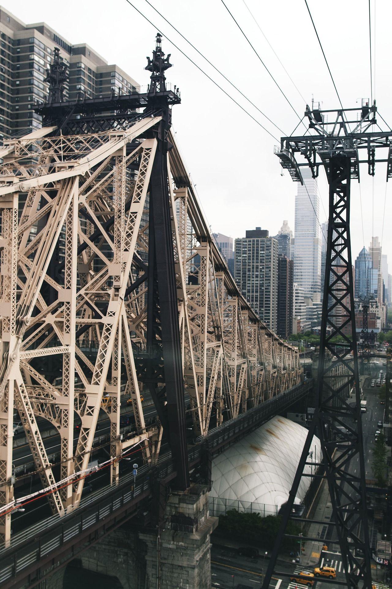 queensboro bridge new york city bridge pinterest br cke reiseziele und stadt. Black Bedroom Furniture Sets. Home Design Ideas