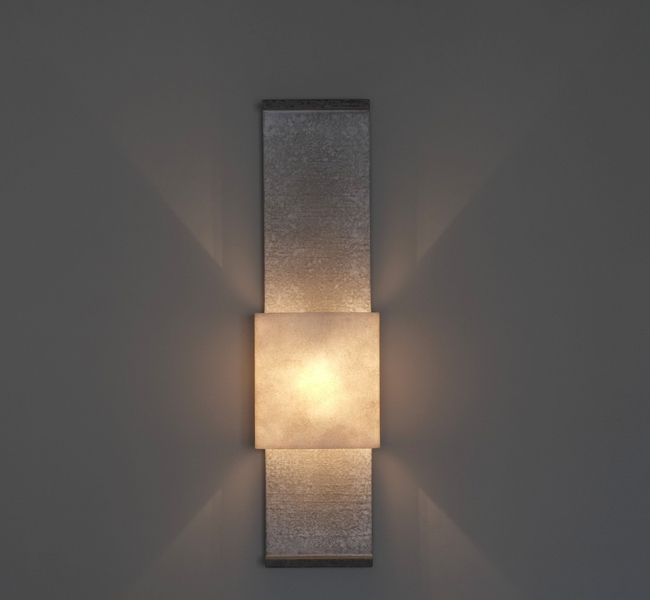 Gorgeous Contemporary Architectural Wall Light, Up And Down