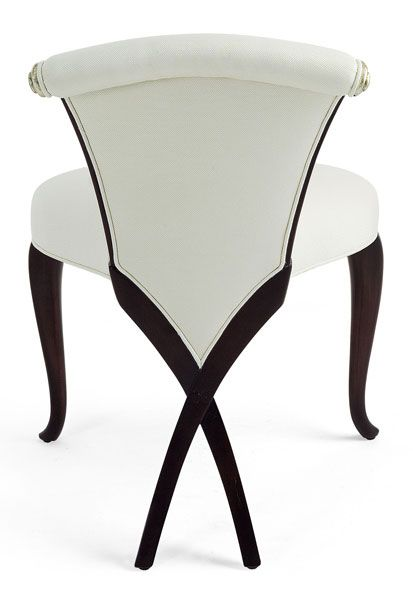 unusual chair legs wood adirondack chairs givenchy furniture pinterest christopher guy and black criss cross great design