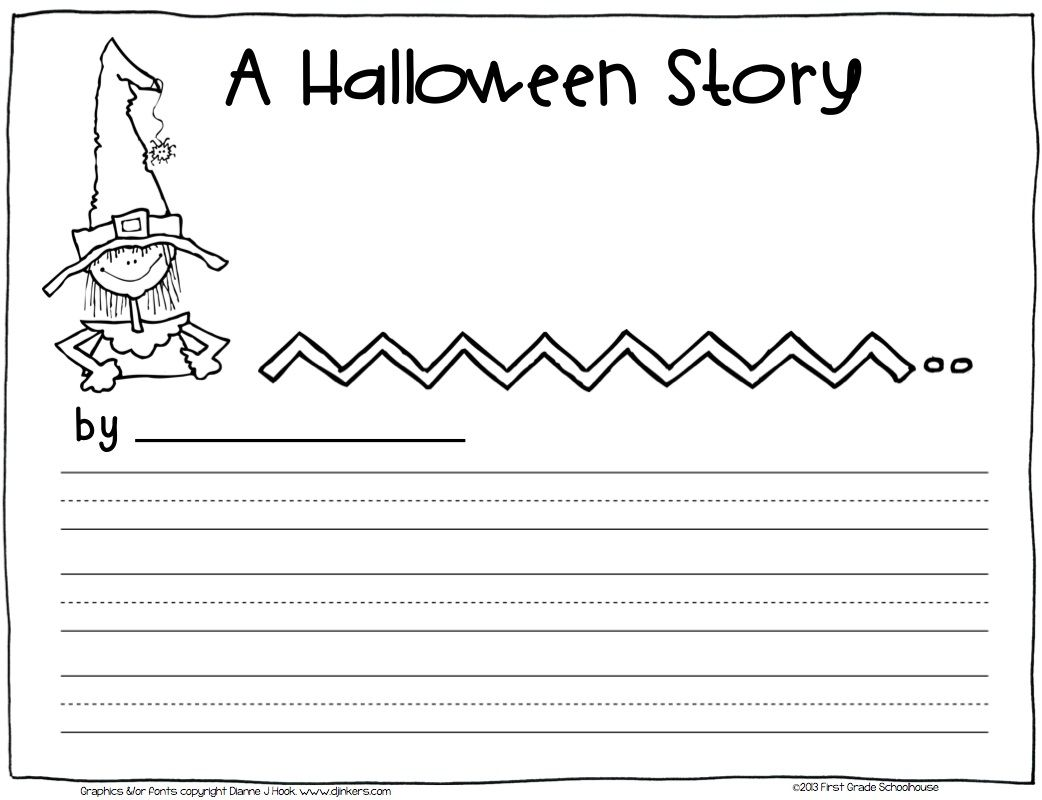 Halloween Cloze Worksheet