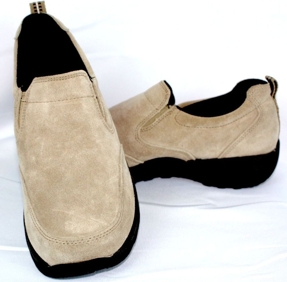Brown Suede Fashion Wome's Shoes Used 8.5 Size