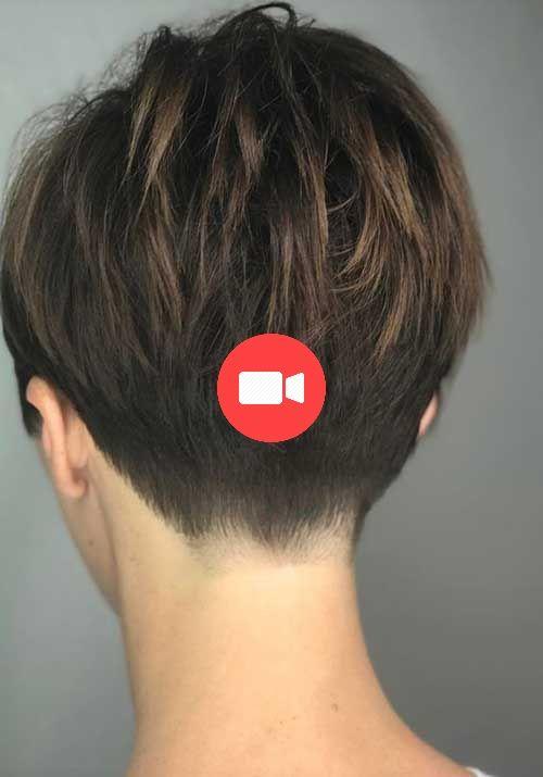 60 Meilleures Coupes De Cheveux Courtes Pour 2018 2019 Short Hair Styles Short Hair Trends Chic Short Haircuts