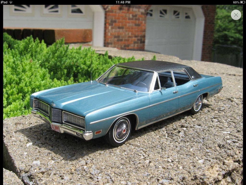 1970 Ford Ltd 1 25th Scale Model Cars Kits Plastic Model Cars Car Model