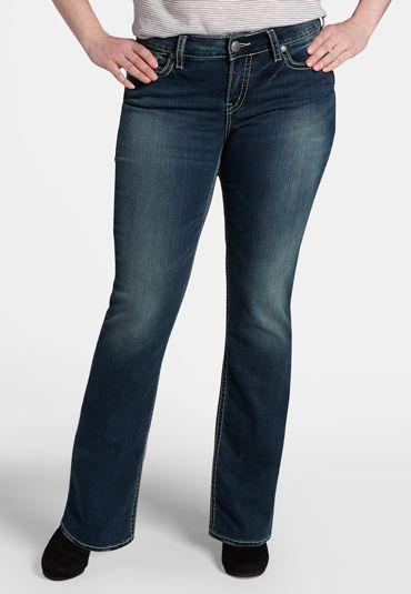 silver jeans co. ® plus size suki super stretch jeans - maurices ...