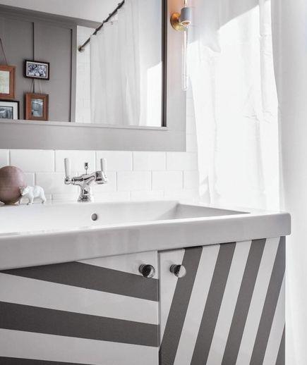 Trompe L'oeil Plain Surfaces | 10 DIY Home Decor Tricks - Real Simple