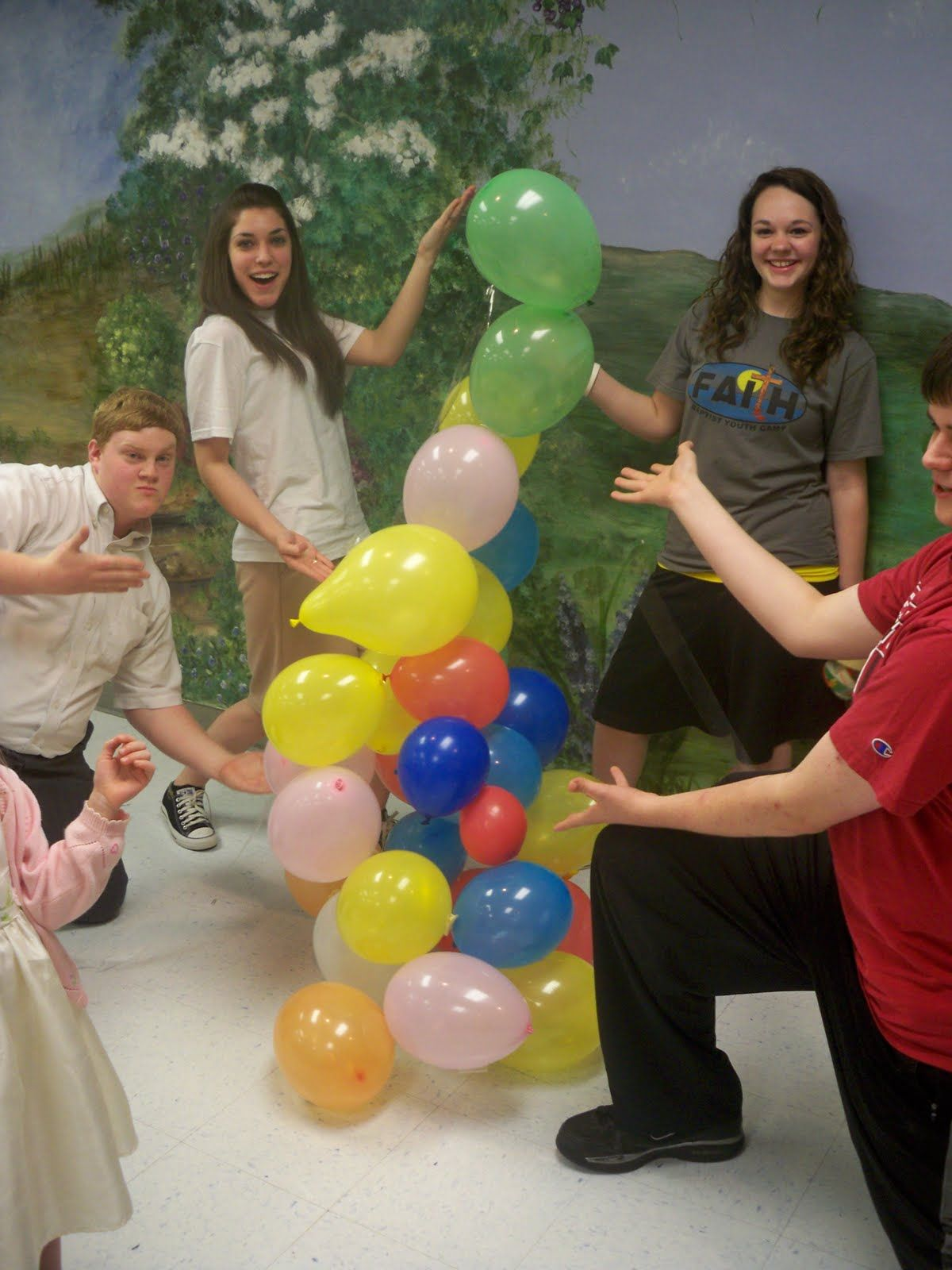 Balloon for Team Building Activities | March Youth After