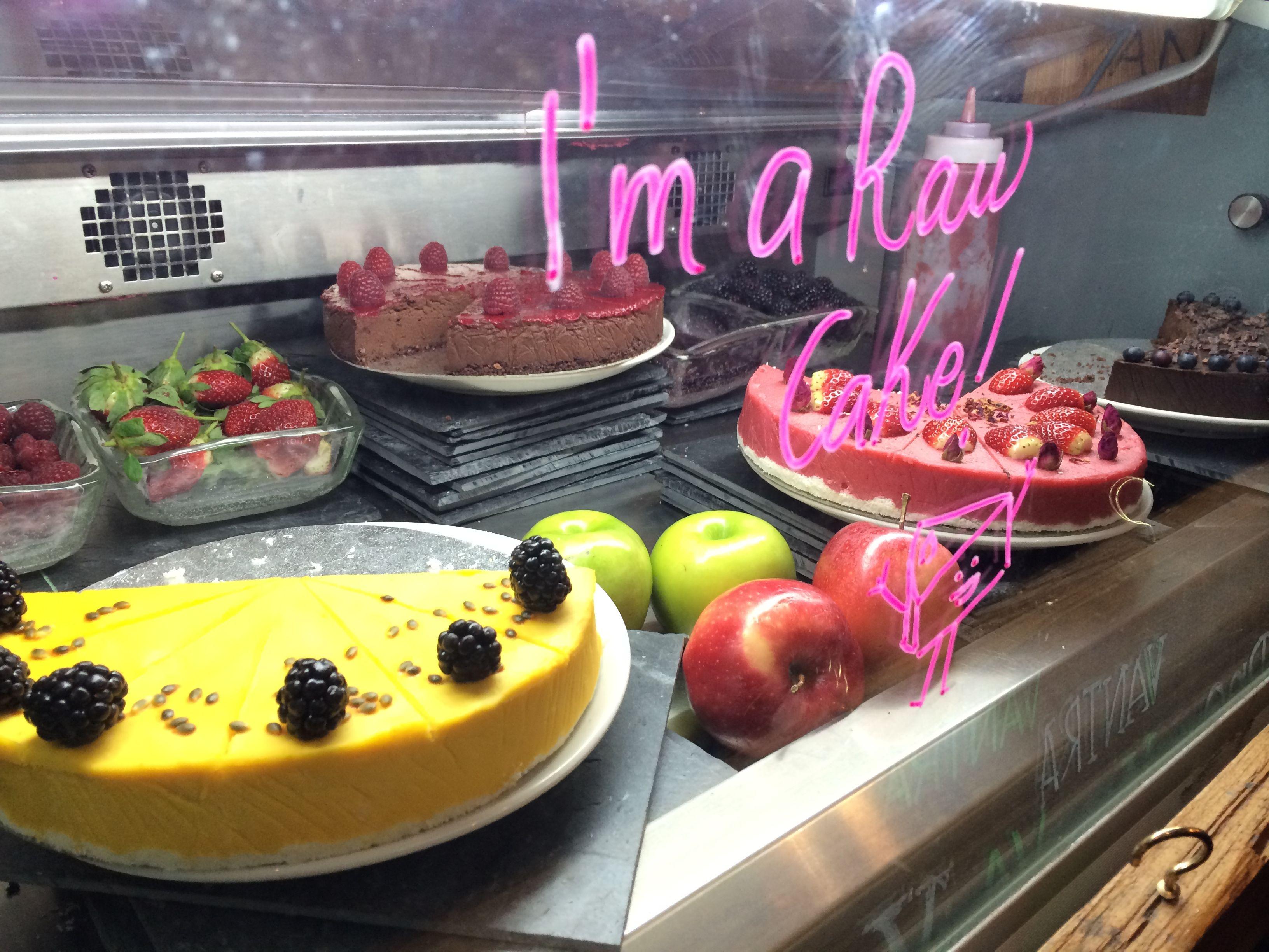 Raw Vegan Cakes At Vantra London Food Pinterest Kue Brownis By Nature Bali