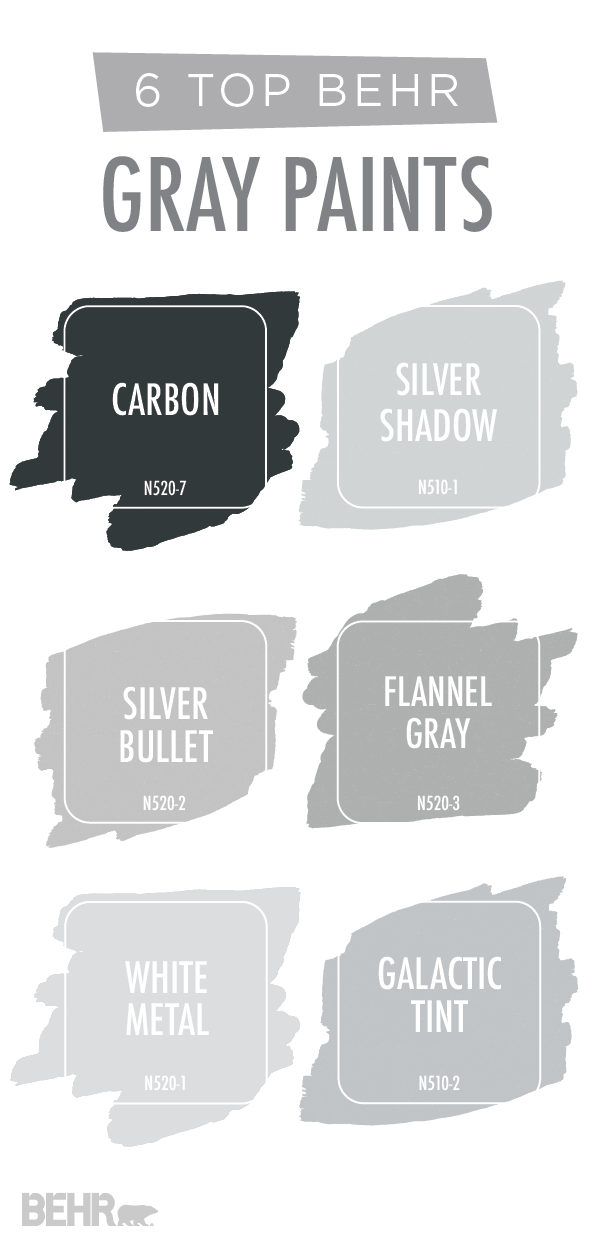 Are You Looking For An Easy Way To Update The Interior Design Of Your Home Try Adding A New Coat Paint Start With This Collection Por Gray Behr