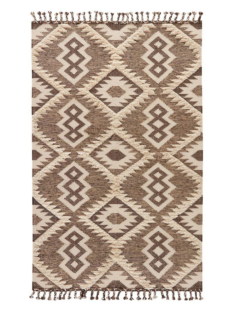 Jaipur Living Rugs Darby Wool Tribal Pattern Rug Flat Weave Rug Graphic Rug Area Rugs