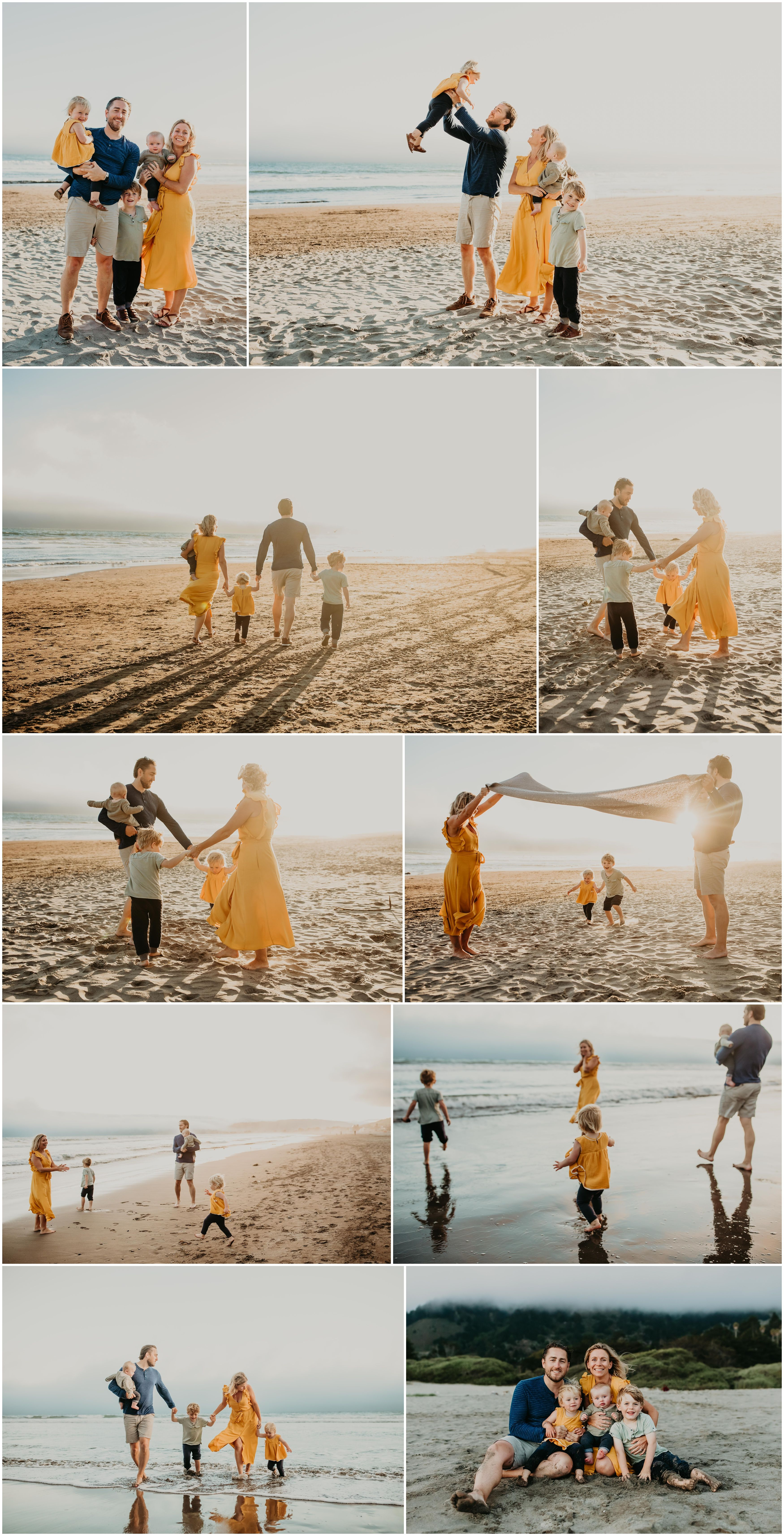Summery Beach Session | Style & Select #familyphotooutfits