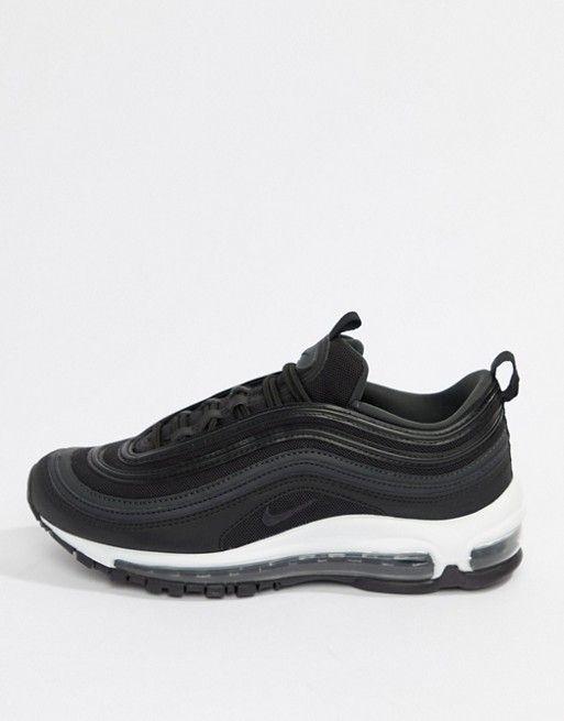 pick up the best attitude on feet at Nike - Air Max 97 - Baskets - Noir et gris | Shoe la la in ...