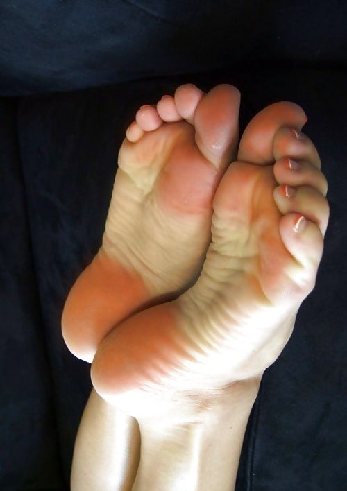 Beautiful toes and soles