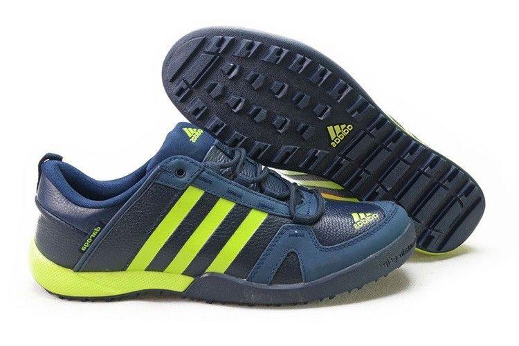 Adidas Daroga Two Læder Blå Sort Grøn Herre