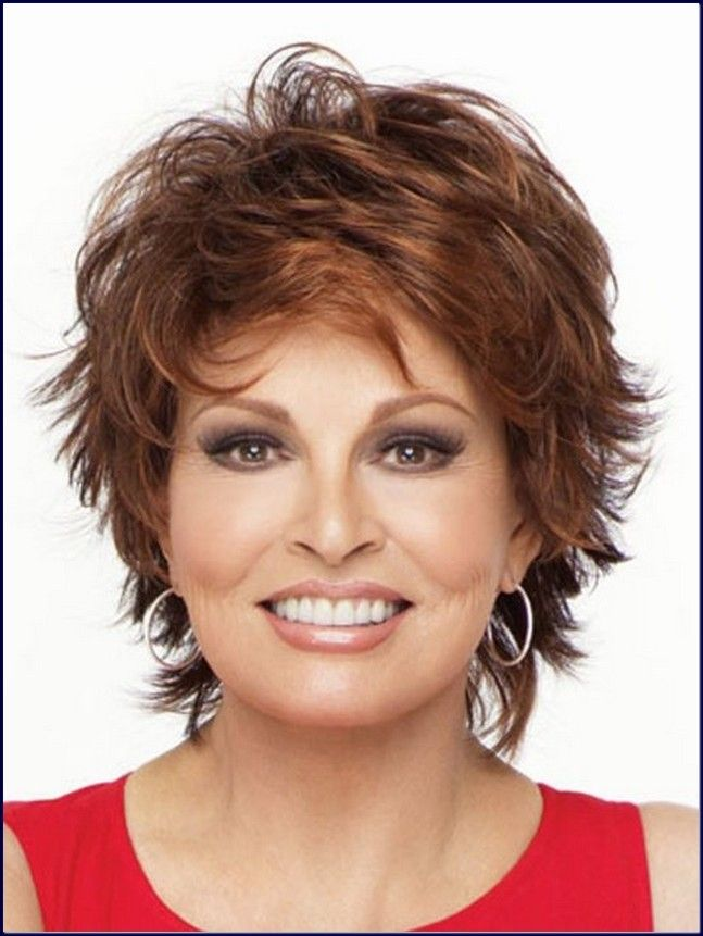 Old Lady Hairstyles Endearing Natural Messy Wavy Look Through Applying Shaggy Hairstyle With